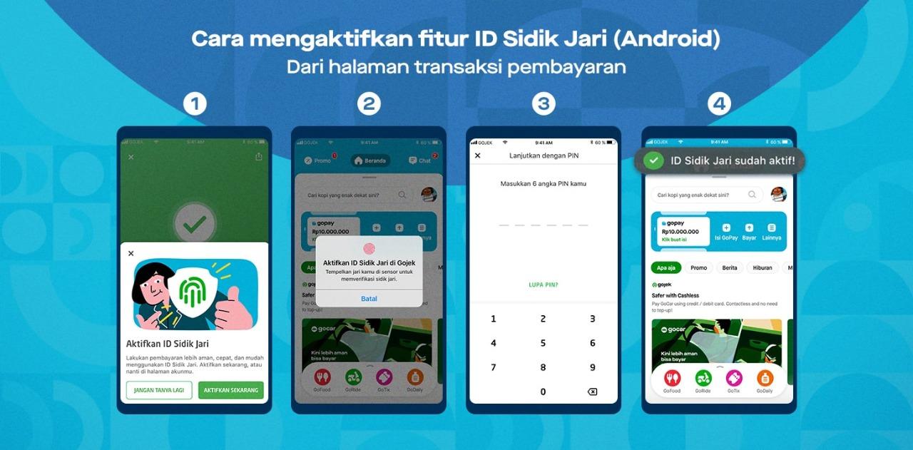 Semakin Aman Gopay Ajak Pengguna Aktifkan Fitur Biometrik Untuk Melindungi Transaksi Suara Publik